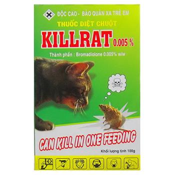Thuốc diệt chuột Killrat sát thủ lừng danh